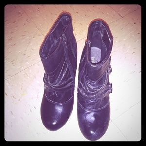 Lane Bryant Bootie boot size 10W