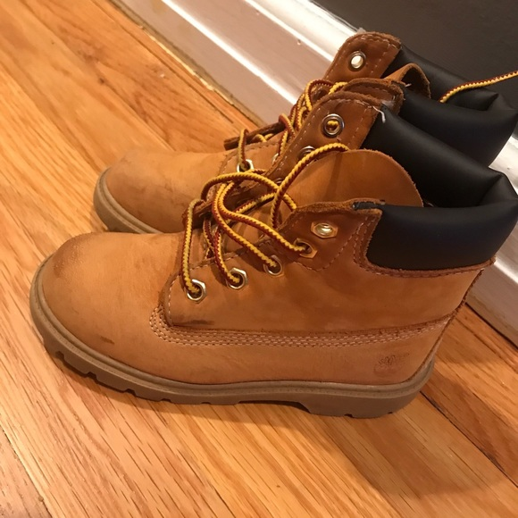 Boys 6 Timberland Boot Tan Size Infant