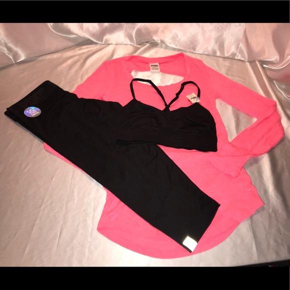 PINK Victoria's Secret - VS PINK Ultimate yoga pants Open Back ...
