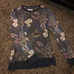 On the Byas Flower Crewneck Sweatshirt