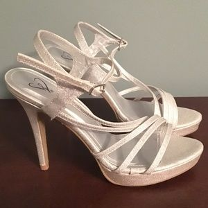 Silver Special Occasion Sandals