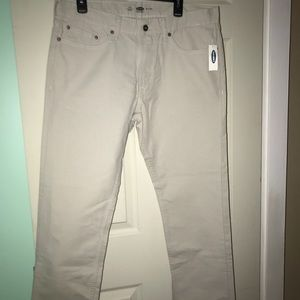 Old Navy Slim Fit khaki pants