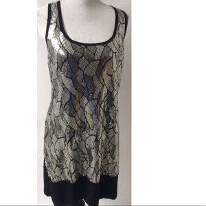 Dresses & Skirts - Black / Silver Dress Size Large