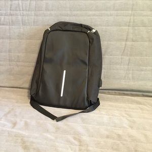Other - New charging Anti Theft Black Backpack