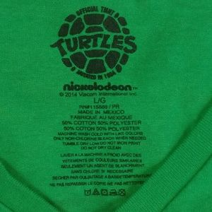 Nickelodeon Tops - TMNT Turtles Nickelodeon V-Neck T-Shirt