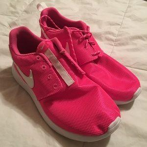 Pink NIKE Roshe Shoes