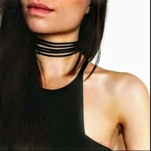 Jewelry - 💥Flash Sale💥 5 Layer Black Velvet Choker