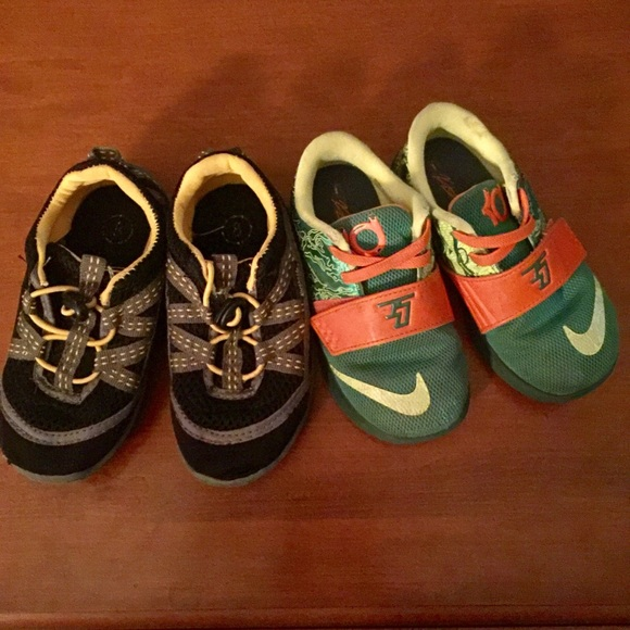 Nike/ Northside 2 pair toddler boy shoes