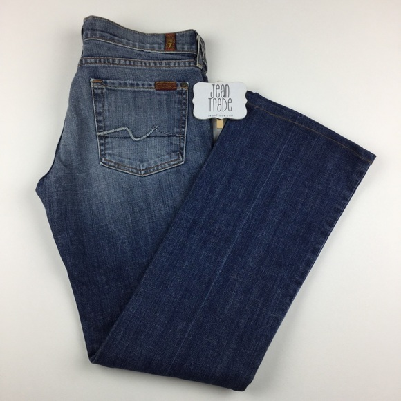 7 For All Mankind Denim - 7 for all mankind bootcut jean