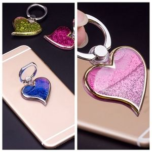 Accessories - HEART SHAPE PHONE HOLDER!