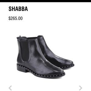 Schutz Shabba studded leather boots