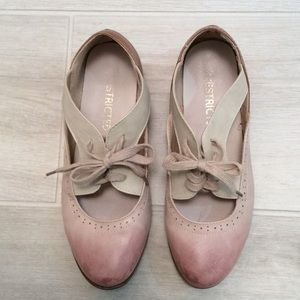 Shoes - Mary Jane flats - two tone
