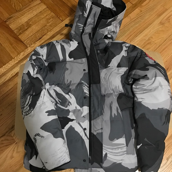 8f3a76c3e17b4 Canada Goose Jackets & Coats | Sold Grey Camo Winter 2018 | Poshmark