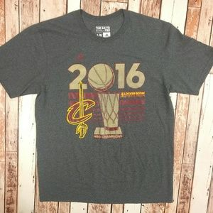 Cavaliers Adidas NBA Champions Locker Room T-Shirt