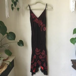 Hand Beaded Scala Dress