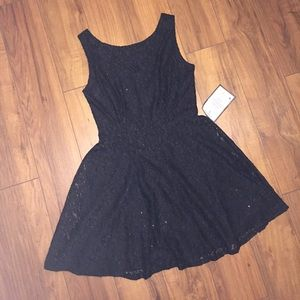 Lace little black dress