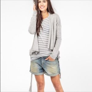 Rag And Bone Boyfriend Slouch shorts distressed