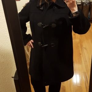 Used Talbots Coat with Visible Wear