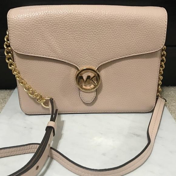 760d95812737 Michael Kors Bags | Brand Nwt Mk Ballet Vanna Lg Crossbody | Poshmark