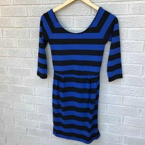 Anthropologie Coincidence & Chance Striped Dress