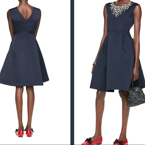 1bf08ad3ead0 kate spade Dresses & Skirts - Kate Spade Cambria navy embellished dress.