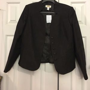 Talbots NWT$100 jacket velveteen/corduroy