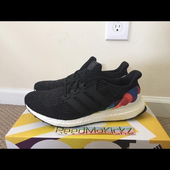meet 4c76d a415d adidas Shoes | Ultra Boost 30 Pride Lgbt Black Mens | Poshmark