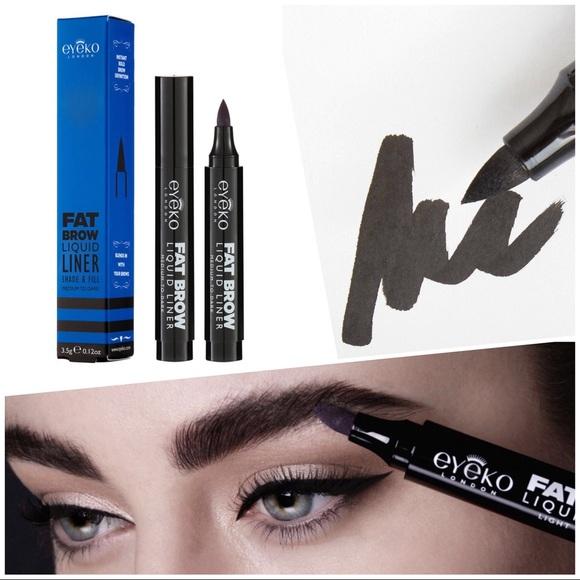 Eyeko Makeup Fat Brow Liquid Liner Light To Medium Poshmark
