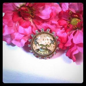 SALE!! EUC Betsey Johnson Tea Party Ring!