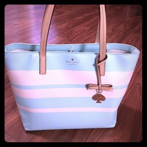 Light blue Kate spade small tote