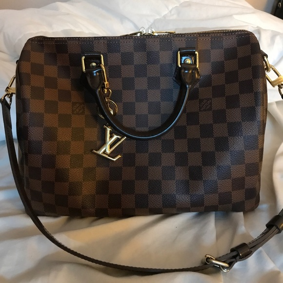 571dec625e42 Louis Vuitton Handbags - Louis Vuitton Speedy Bandouliere 30 (Damier Ebene)