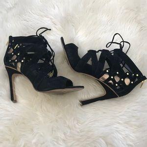 Dolce Vita black Suede Heels