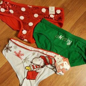Bikini Snoopy Nwt Panty Hipster Bling Boy ~~ 2 Holiday F1JlKTc