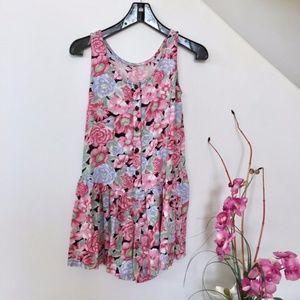 Dresses & Skirts - Boho Flower Power Romper Playsuit