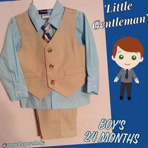 Boys 4 Piece Suit 24 Months
