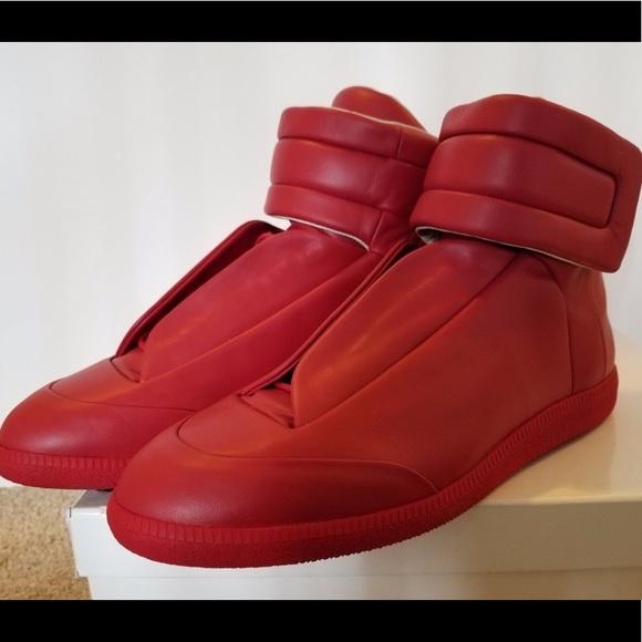 3a916cc5a81 Maison Margiela Men s Future Leather High-Top 43