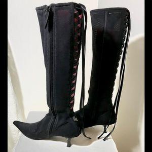 Giuseppe Zanotti MESH Lace-Up boots 7.5