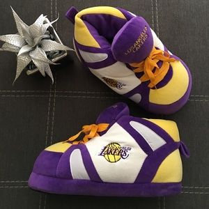 06cfcc471a28 comfyfeet Shoes - Los Angeles Lakers Sneaker Slippers