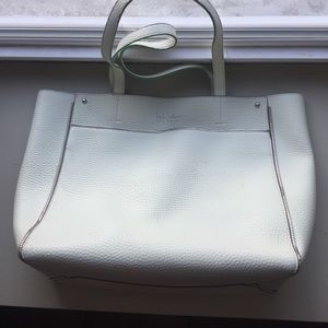 Nicole Miller tote bag light mint green