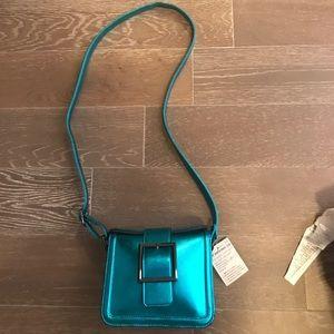 Justfab Metallic Crossbody bag