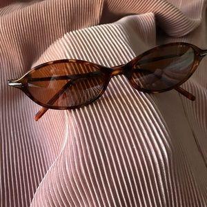Vintage 90s polarized tortoise sunglasses
