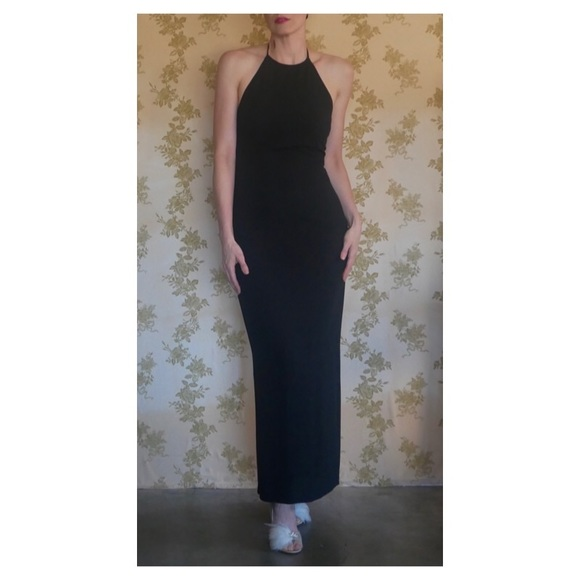 Dresses & Skirts - All Occasions Dressy Sexy Halter Black Dress
