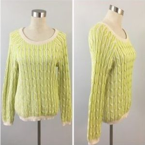 Willow and Clay Cable Knit Sweater Size Small