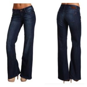 Mavi Jeans Cora Wide Leg Jeans Indigo 28