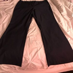 Flare leg casual/dress pants