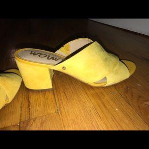 bfbb274c67dbc8 Sam Edelman Shoes - Sam Edelman Stanley Block Heel Mule Sandal
