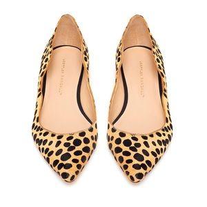 Loeffler Randall Milla Cheetah flats