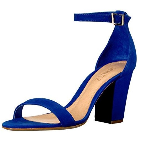 cd751914b987 Schutz Jenny Lee royal blue 8.5