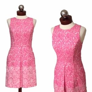 CYNTHIA STEFFE $298 jacquard dress 2