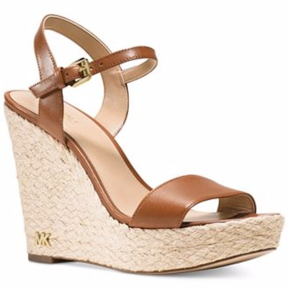5678d7aa3716 KORS Michael Kors Shoes - MICHAEL Michael Kors Jill Espadrille Wedge Sandals